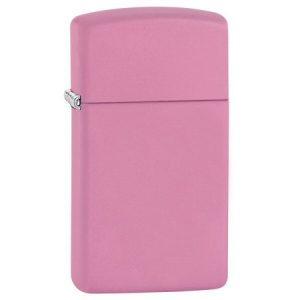 041689104054 zippo upaljac pink matte slim 1638