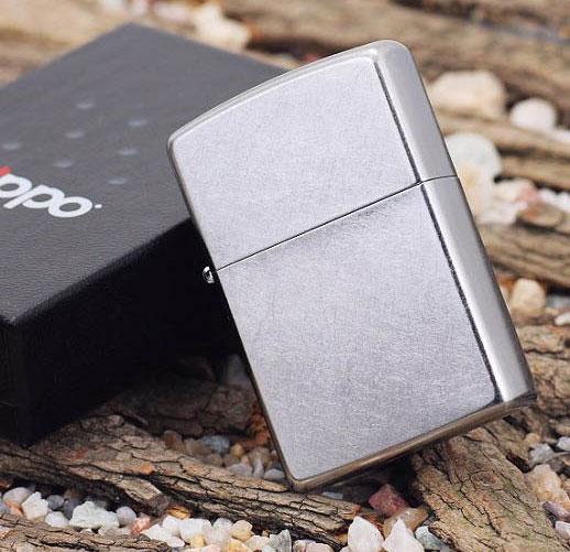 125 Engraved Zippo 207 Street Chrome 1
