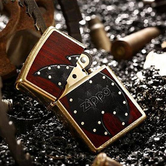 2641 Zippo Upaljač Leather Flame 1 28832