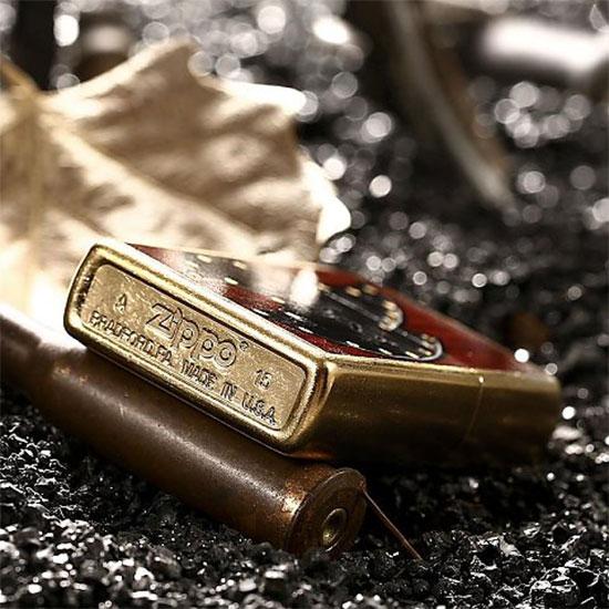 2641 Zippo Upaljač Leather Flame 3 28832
