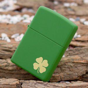 374 Zippo 21032 Shamrock Green Matte 3
