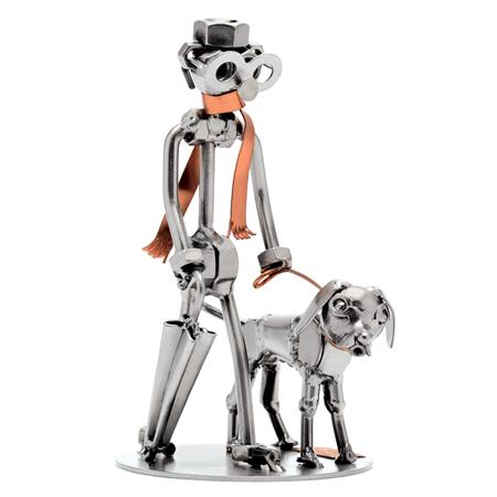 HinzKunst Covek i Pas 270 A Man Dog Poklonimi
