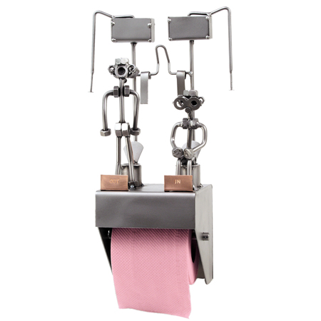 HinzKunst Drzac za Toalet Papir 2 Figure 0101WC D Toilet Training Paper holder Poklonimi
