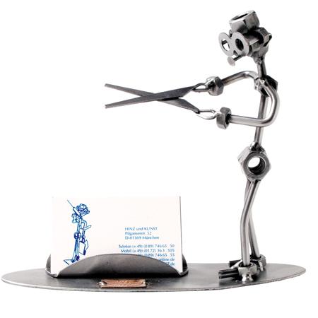 HinzKunst Frizer vizitke 192 B Haircutter Businesscard Poklonimi