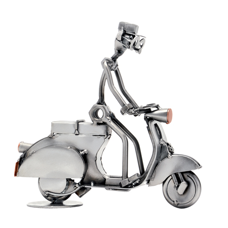 HinzKunst Vespa 335 B Motor Scooter Driver Poklonimi