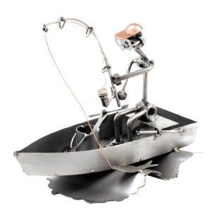HinzKunst pecaros u camcu Fischerman boat Poklonimi