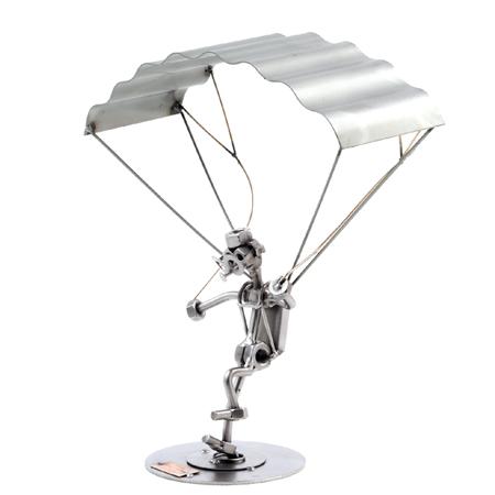 HunzKunst paraglajder Hang glider landing Poklonimi