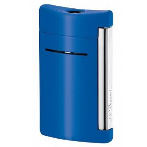 S T Dupont MINIJET LIGHTER CYAN BLUE 010038 S T Dupont 010038 Alpascia img 121064 w312 h503