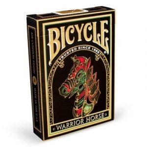 Bicycle karte warrior horse