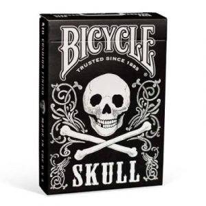 bicycle skull karte