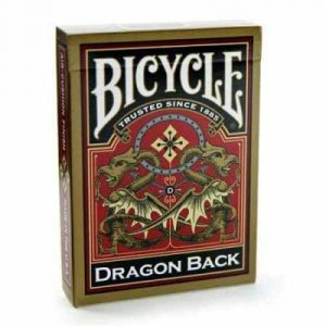 Karte Bicycle Dragon Back Gold