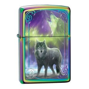 anne stokes wolf zippo lighter personalised 23994 p