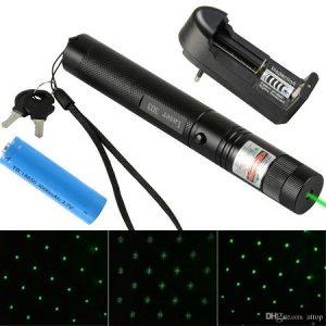 zeleni laser