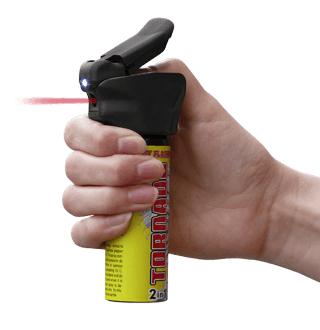 spray flashlight police tornado hand