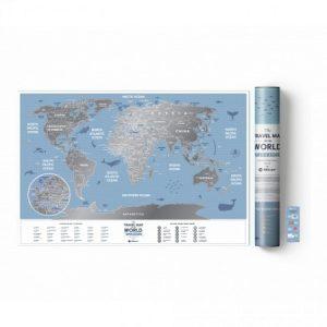 greb mapa sveta mala