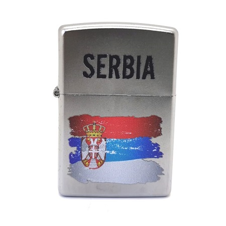 zippo 205 srbija zastava ekspedicija
