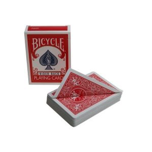 karte bicycle double back redred